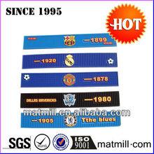 2013 Brand New Rubber custom Bar Rail Mat/Service mat