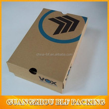 (BLF-PBO673) full color kraft paper shoe box