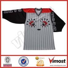 dye sublimated ice hockey jerseys/uniforms