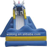 2015 low price inflatable pool water slide for playground on sale !!!