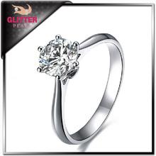 Diamond jewelry ring rough diamond
