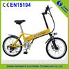 """20""""inch wheel size portable electric bike kit green city"""