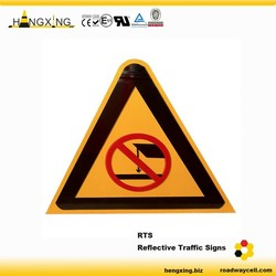 RTS Reflective Safety Portable Road Signs