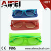 2015 new reading glasses double color wayfarer eyewear with pouch