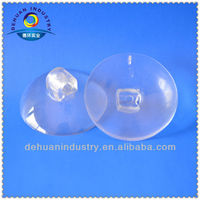 30MM diameter PVC Suction Cup with Plastic Screw Head
