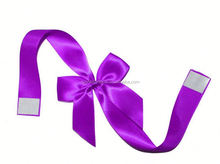 Elastic ribbon bow for gift decoration