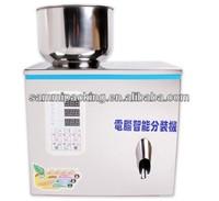 2-100g Tea packaging machine, grain,medine,granule,salt,seed,herb,rice weighing machine,powder filler