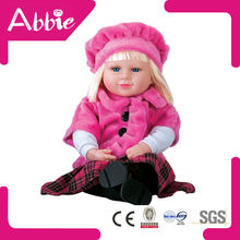 bebé de algodón hombre muñeca de silicona muñeca hecha a mano la muñeca de algodón