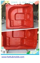 plastic bathtub for adults 10persons outdoor soaking tub mould