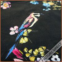 Digital print on cotton fashion twill fabric in custom design