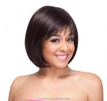 Best Selling Cheap 100% High Temperature Fiber wigs black wig