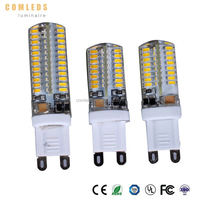 CE ROHS certified g9 led light bulb 15w