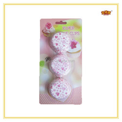 Grease-Proof Paper Glass Paper Cup Cake Liners With Economic