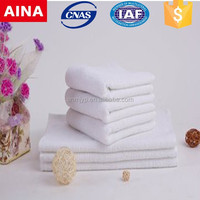 100% Cotton White Terry Hand Towels for Hotels & Motels