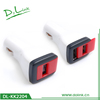 New USB Car Switch Power Charger For Mobile Charger