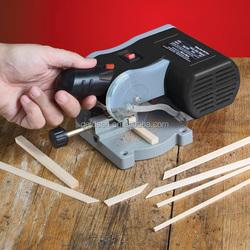 "GODLENTOOL 2"" 50mm Electric Power Small Hobby Craft Mini Circular Saw Mini Miter Saw Mini Cut-Off Saw"