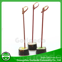 Colored Cocktail Decorative Knot Bamboo Skewer Wholesale