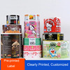 high quality custom color food label,promotion pvc roll label sticker,frozen food labels