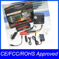16800MAH High Capacity Jump Starter Power Booster With Smart Clamp Cable
