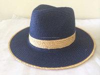 Popular High Quality Custom Fedora Paper Raffia Braid Hat