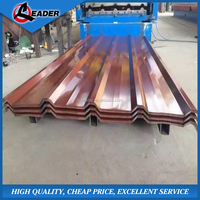 Prefabricated house materials high strength corrugated steel sheet