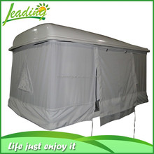 Electric Diy Car Roof Tent For Sale, Truck Folding Camper Flat Hard Shell Roof Top Tent