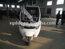 Clean electric tricycle three wheeler for passenger