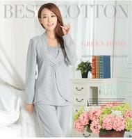 Factory Price 100% Cotton Custom Print adult pajama jumpsuit