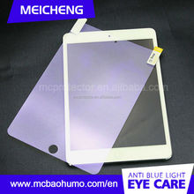9H hardness 0.33mm resist scratch anti oil tempered glass screen protector for ipad