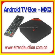 Fashionable HD Video Amlogic S805 Quad Core Android MXQ TV Box Full HD Media Player 1080P