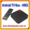 Fashionable HD Video MXQ Amlogic S805 Quad Core Android OTT TV Box Full HD Media Player 1080P