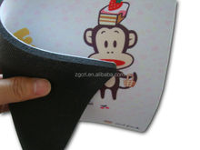 promotion gift products rubber cloth special shape sublimation logo mouse pad