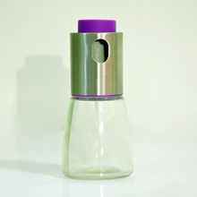 clear 200ml glass oil bottle,colorful painting bottle new product