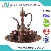 China wholesale market arabic tea jug coffee jug with sticking jewel(su-W2-01DQ4)