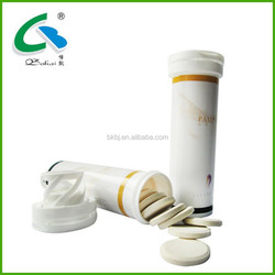 Soy Isoflavone, effervescent tablet for woman beauty