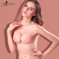 fashion latest design push up silicone bra