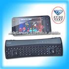 mini teclado bluetooth backlit controle remoto com touchpad paraiphone