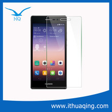 New Product 2015 Scratch-resistant Anti-fingerprint Anti-explosion Tempered Glass Screen Protector for Huawei P6/7