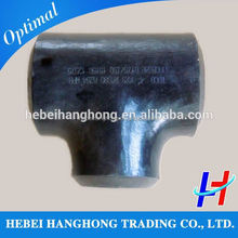 Trade Assurance Supplier carbon steel gas compression straight tee pipe fittings