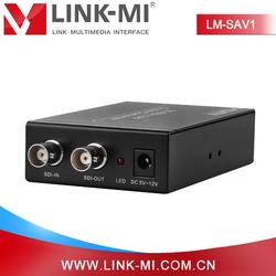 LM-SAV1 for PAL/NTSC TV,BNC to RCA Audio Video Converter