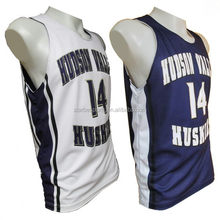 Quality professional european basketball uniform jersey