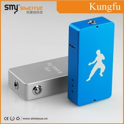 Top selling Kungfu vapor box mod the best selling in USA alibaba