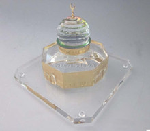 Dome of Rock Rock Dome Jerusalem mosque grand mosque crystal model