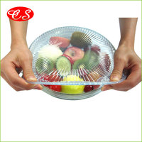 BPA free Eco-friendly Multi-fuctional Microwave Safe Silicone Food lid Wrap Film Stretch Film To Keep Foods Fresh cling wrap