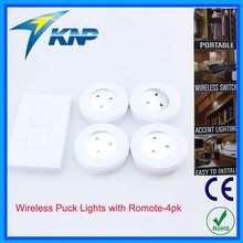 Hot Cabinet Wireless LED Puck Light with Romote