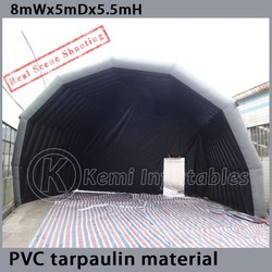 PVC tarpaulin giant Inflatable stage tent cover Inflatable stage marquee canopy Inflatable tent for events inflatable party tent