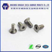 DIN7991 m4x10 stainless steel socket head screws