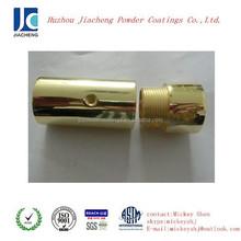 Supply Metallic gold pigment powder coating spraying on metal surface