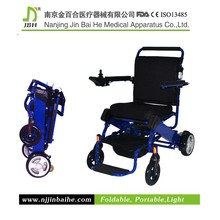 2015 hot sale China blue light weight aluminum children wheelchair basketball for children