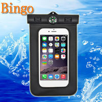 "Bingo promotional pvc waterproof mobile phone case 6.0"" fit all smartphone hot sell factory wholesale price"